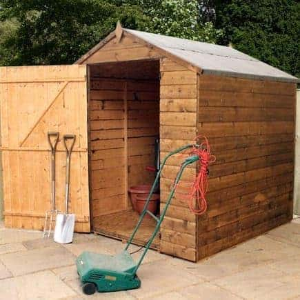6' x 6' Value Shiplap Garden Shed With No Windows