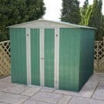 6' x 7' Budget Apex Metal Shed
