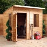 6' x 8' Curved Roof AERO Shed