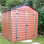 6' x 8' Palram Skylight Plastic Amber Shed Overall Appearance