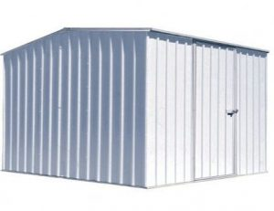 6'6 x 9'10 Premium Easy Build Metal Shed
