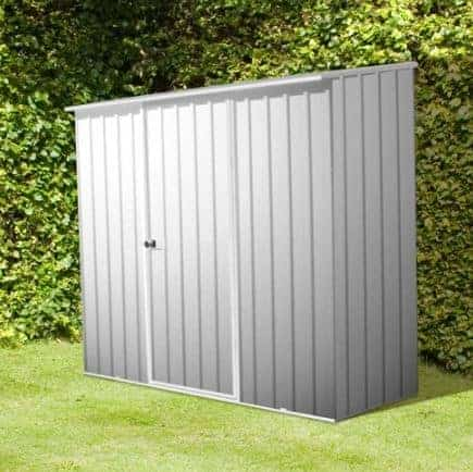 7' 5 x 5 Premium Space Saver Easy Build Metal Shed