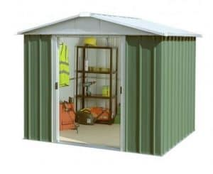 7' 9 x 9' 1 Yardmaster Apex Metal Garden Shed
