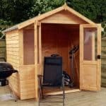 7' x 5' Henley Double Door Summer House