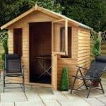 7' x 5' Henley Stable Door Summer House Feature