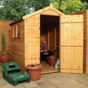 7' x 5' Single Door Standard Tongue and Groove Apex Shed