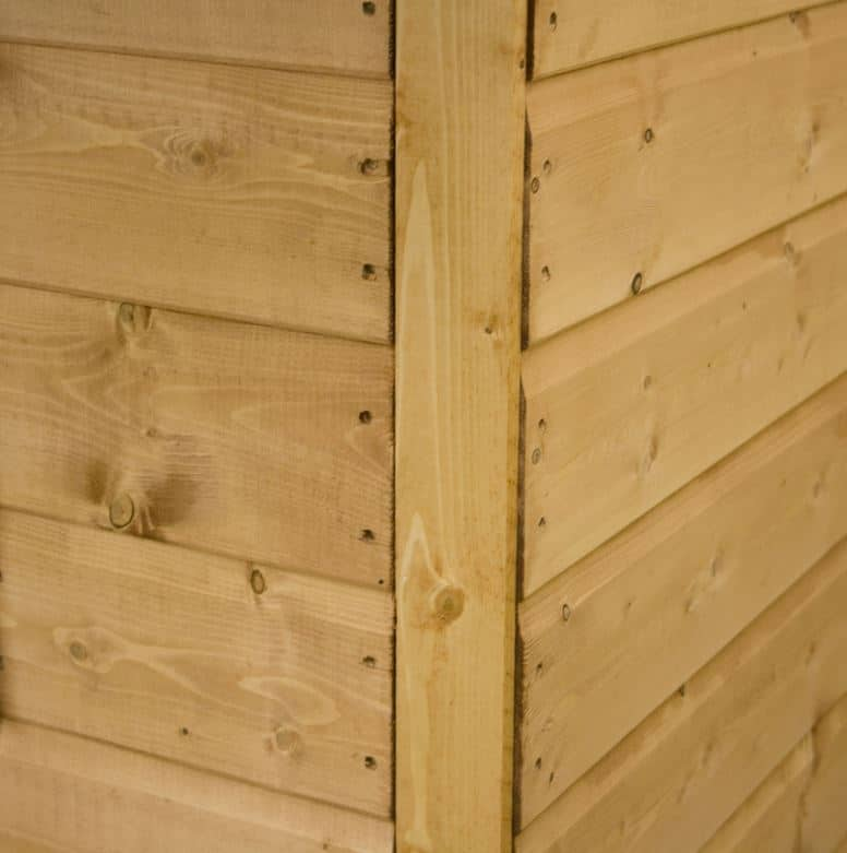 7 x 5 tongue and groove offset apex shed - Exterior tongue and groove cladding ...