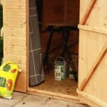 7' x 5' Tongue and Groove Offset Apex Shed Internal