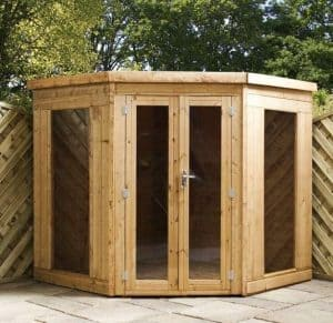 7' x 7' Chelsea Deluxe Corner Summer House Overall Appearance