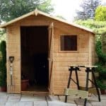 7' x 7' Offset Apex Garden Shed