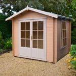 7' x 7' Shire Barnsdale Log Cabin