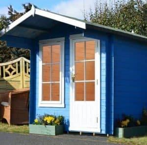 7' x 7' Shire Crinan Log Cabin