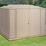 8' x 10' Duramax Duramate Steel Framed Plastic Apex Shed