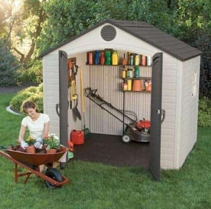 Genial This Is The Perfect Solution For Those Of Us Who Have Smaller Than Average  Gardens But Also Require A Shed To Help Us Look After Our Tools And  Equipment.