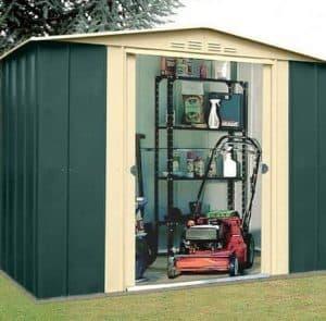 8' x 3' Canberra Metal Shed
