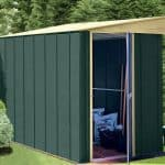 8' x 4' Canberra Lean-To Metal Shed