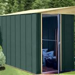 8' x 5' Canberra Lean-To Metal Shed