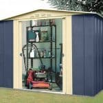 8' x 6' Canberra Blue Mountain Metal Shed