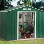 8' x 6' Emerald Rosedale Metal Shed