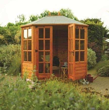 8' x 6' Rowlinson Ryton Octagonal Summer House