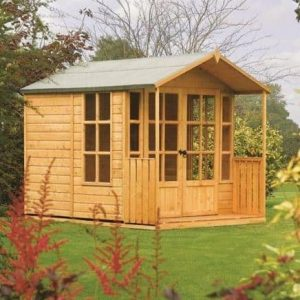 8' x 7' Rowlinson Arley Summer House