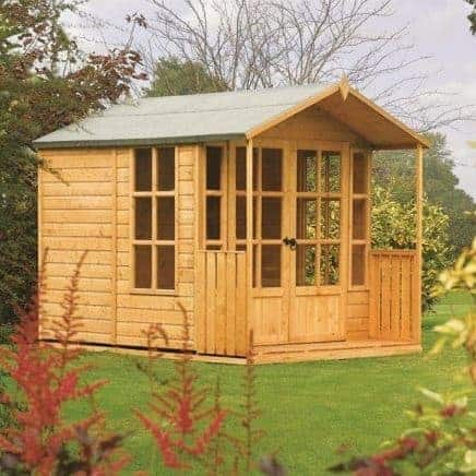 8' x 7' Rowlinson Arley Summer House
