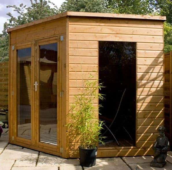 8 x 8 Chelsea Corner Summer House Featured
