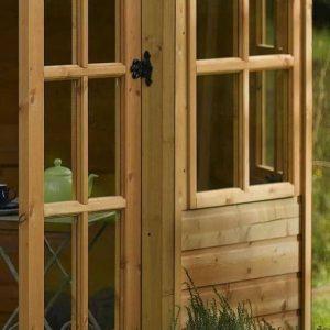 8' x 8' Rowlinson Ryton Octagonal Summer House Cladding