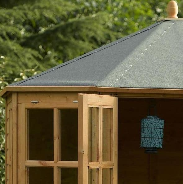 8 X 8 Rowlinson Ryton Octagonal Summer House What Shed