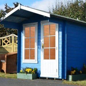 8' x 8' Shire Crinan Log Cabin