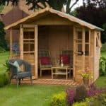 8' x 8' Stratford Summer House With Veranda