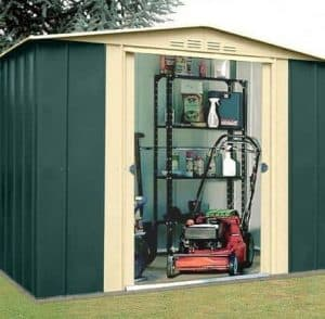 8' x 9' Canberra Metal Shed