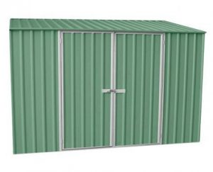 9' 10 x 5 Premium Space Saver Pale Easy Build Metal Shed