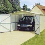 9-8 x 17- 1 Yardmaster Apex Metal Garage