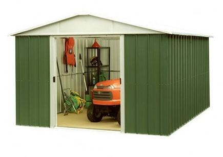 9' 9 x 12' 9 Yardmaster Apex Metal Shed