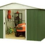 9' 9 x 9' 11 Yardmaster Apex Metal Shed