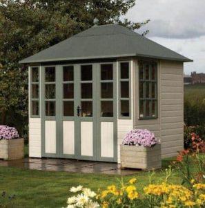 9' x 7' Rowlinson Chatsworth Summer House