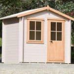 9' x 9' Shire Avesbury Log Cabin