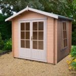 9' x 9' Shire Barnsdale Log Cabin