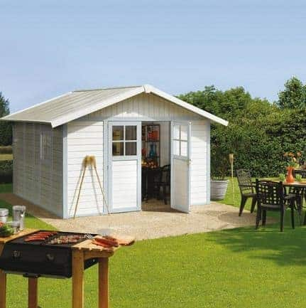 Grosfillex Deco 11 Plastic Shed - Multiple Colour Option