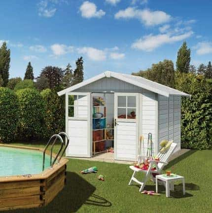 Grosfillex Deco 4.9 Plastic Shed - Multiple Colour Option