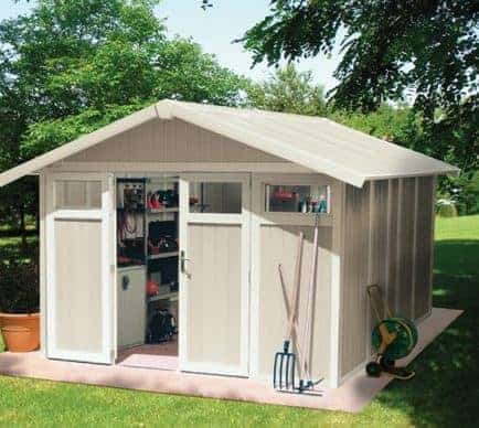 Grosfillex Utility 11 Plastic Shed - Multiple Colour Option