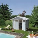 Grosfillex Utility 4,9 Plastic Shed - Multiple Colour Option