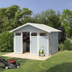 Grosfillex Utility 7,5 Plastic Shed - Multiple Colour Option