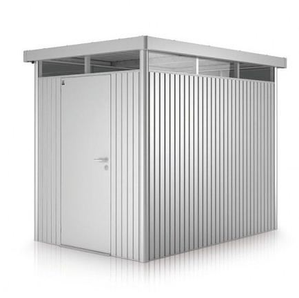 H2 BioHort Highline Metal Shed With Single Door