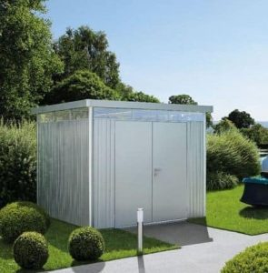 H4 BioHort Highline Metal Shed With Double Door
