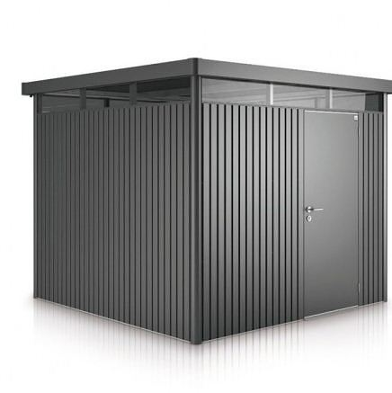 H4 BioHort Highline Metal Shed With Single Door