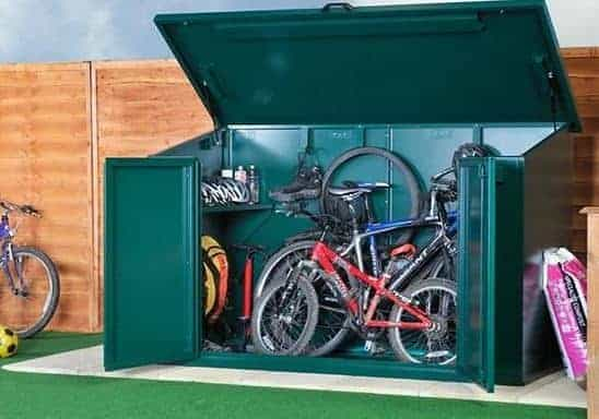 Asgard Access Metal Bike Store