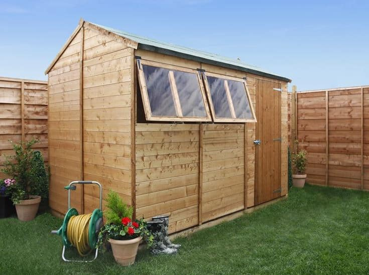 BillyOh 5000 Gardeners Retreat Premium Tongue & Groove Single Door Apex