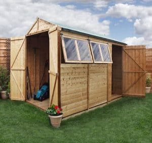 BillyOh 5000 Gardeners Retreat Premium Tongue & Groove Single and Double Door Apex